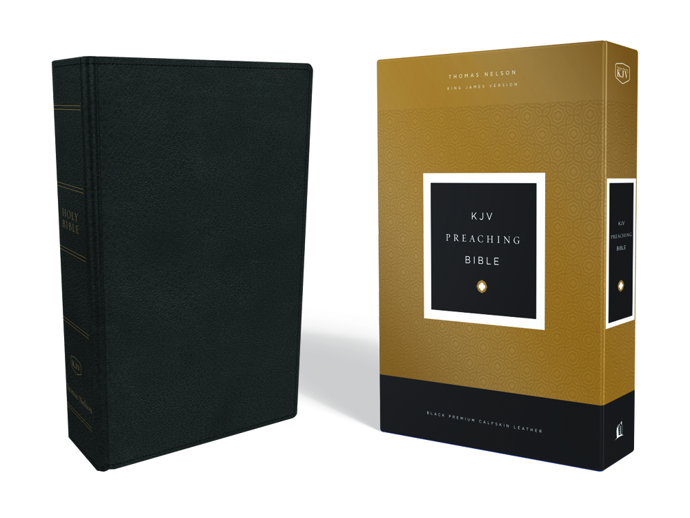 KJV Preaching Bible - black